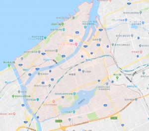 中央区地図